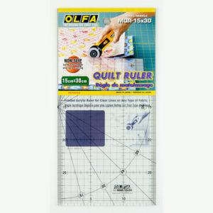 Линейка разметочная OLFA 15х30 см - студия SOVA