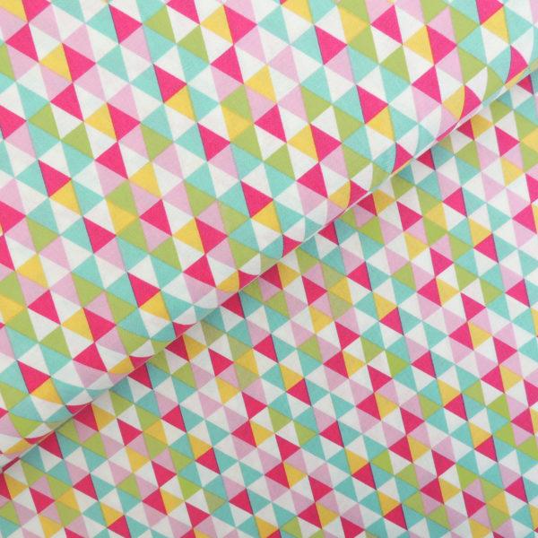 Ткань ромбики - студия SOVA