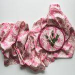 Ткань цветочный узор