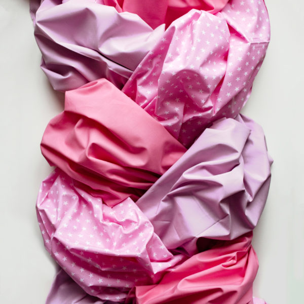Ткань пыльно розовая