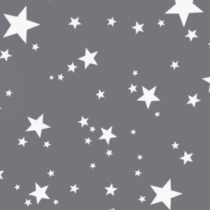Ткань звёзды серые - студия SOVA