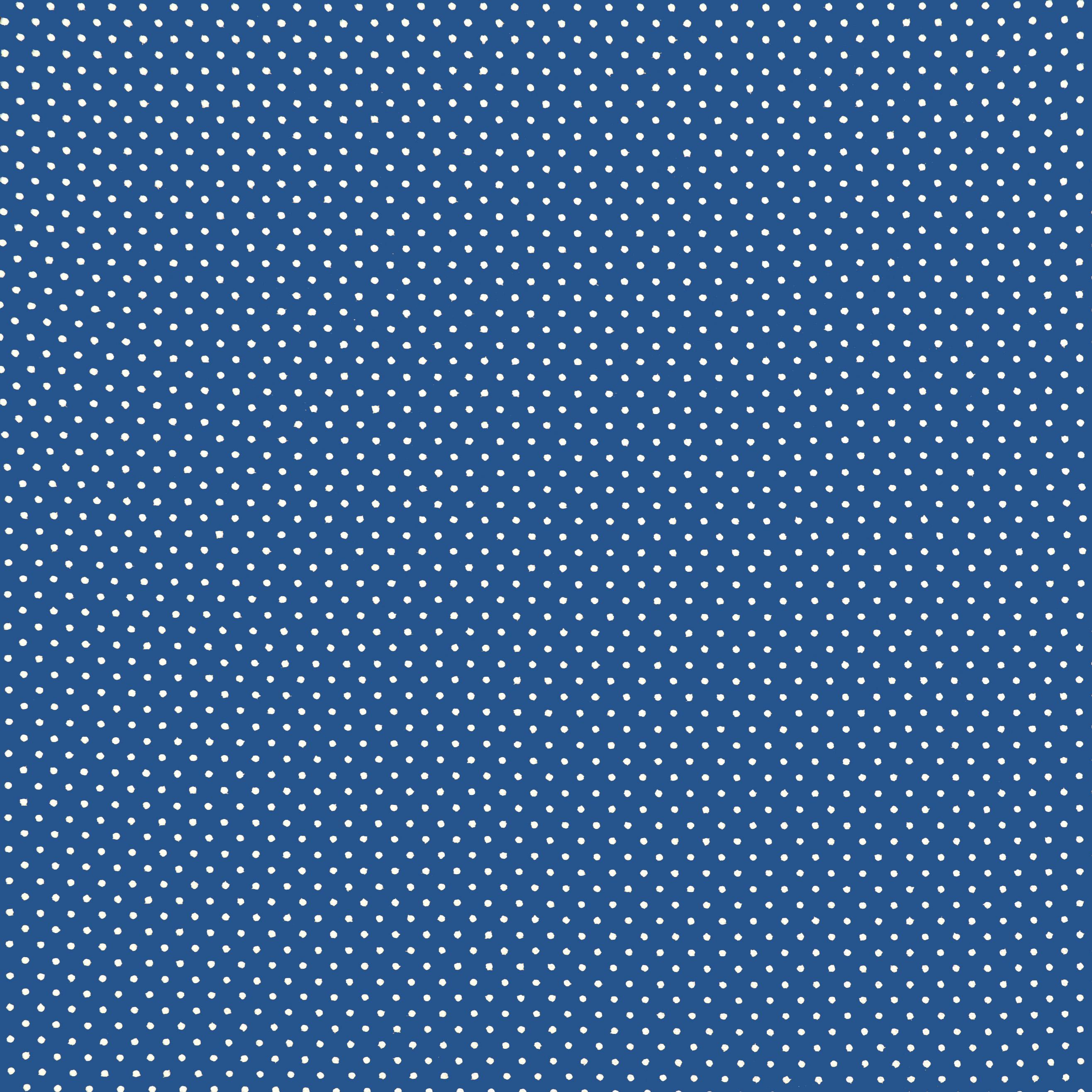 Ткань синий горошек - студия SOVA