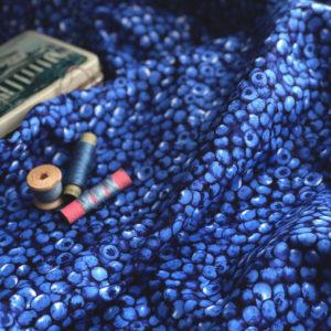 Ткань черника - ZIGZAG SHOP