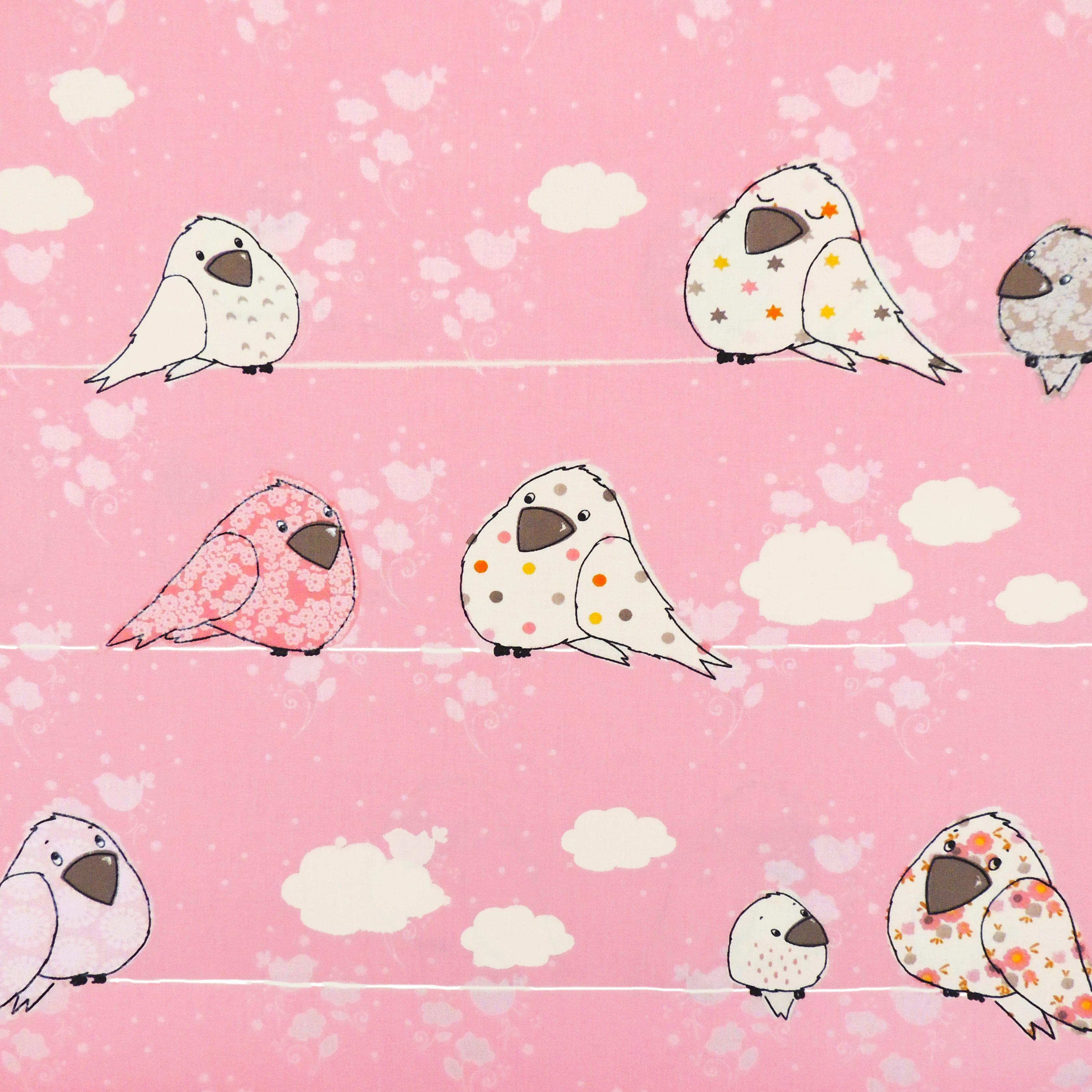 Ткань птицы - студия SOVA