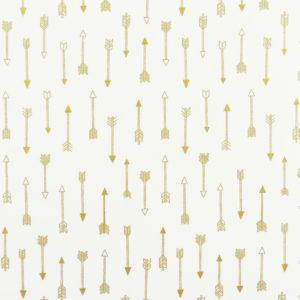 Ткань золотые стрелы - студия SOVA