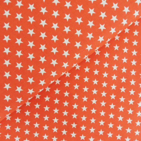 Ткань звёздочки красные