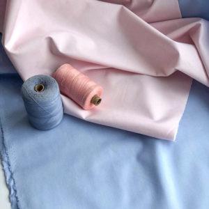 Ткань французский голубой - ZIGZAG SHOP
