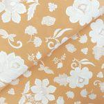 Ткань белые цветы - студия SOVA
