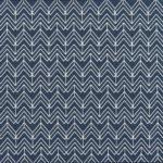 Ткань синий зигзаг - студия SOVA