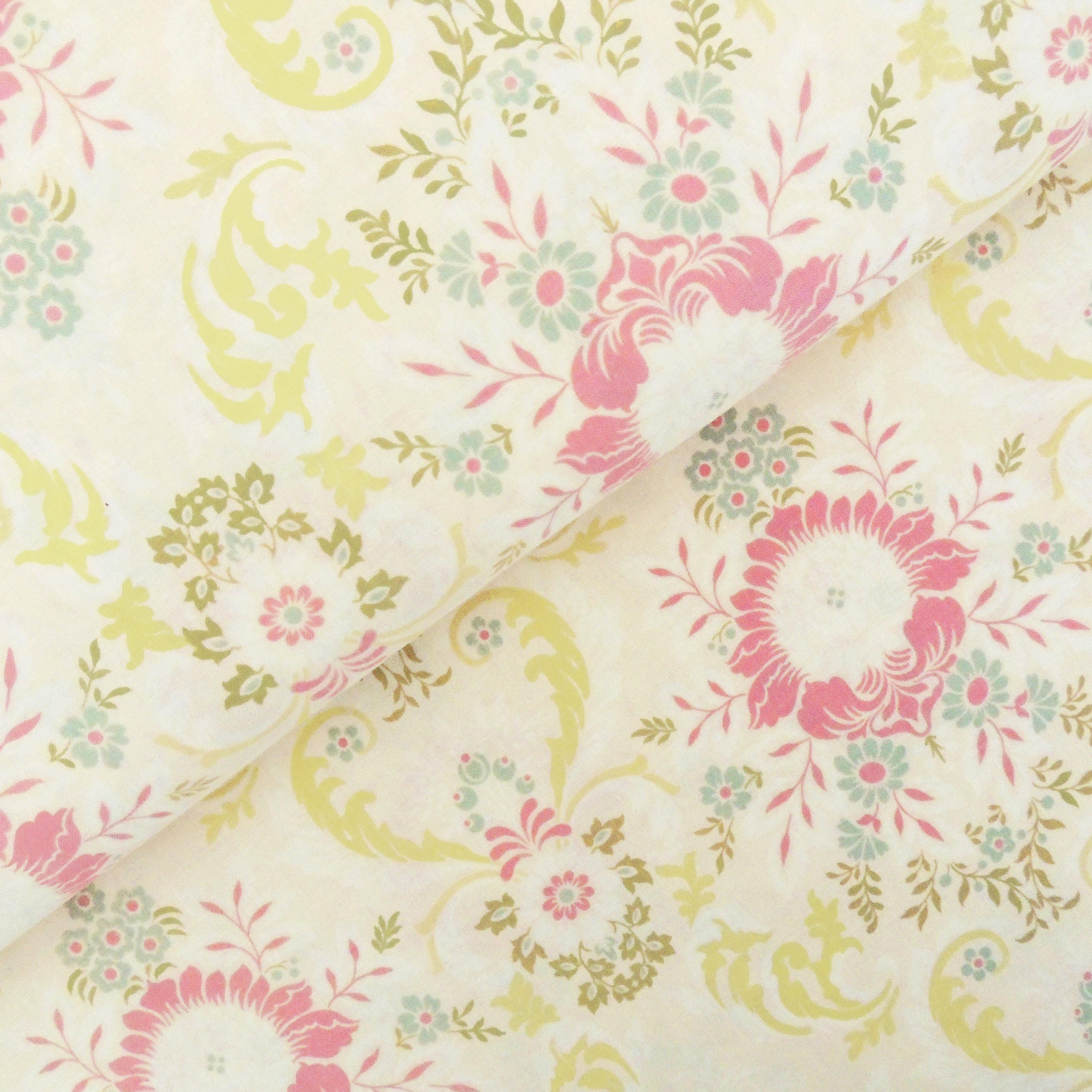Ткань цветочная - студия SOVA