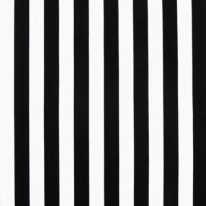 Ткань черная полоска - студия SOVA