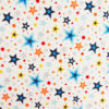 Ткань звёзды белые