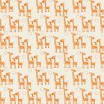 Ткань веселые жирафы - студия SOVA