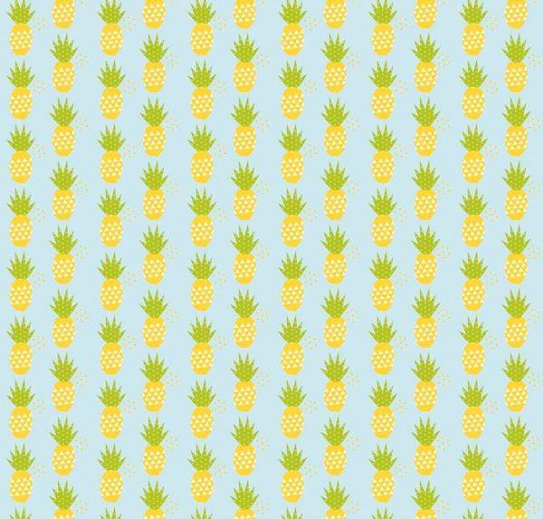 Ткань ананасы - студия SOVA
