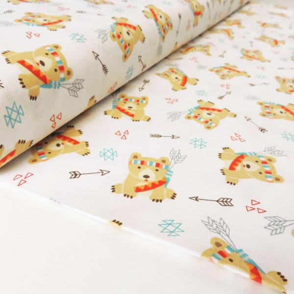 Ткань мишки - студия SOVA