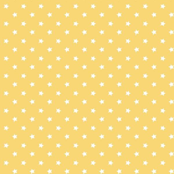 Ткань желтые звезды - студия SOVA
