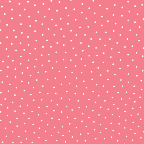Ткань горошек розовый - студия SOVA