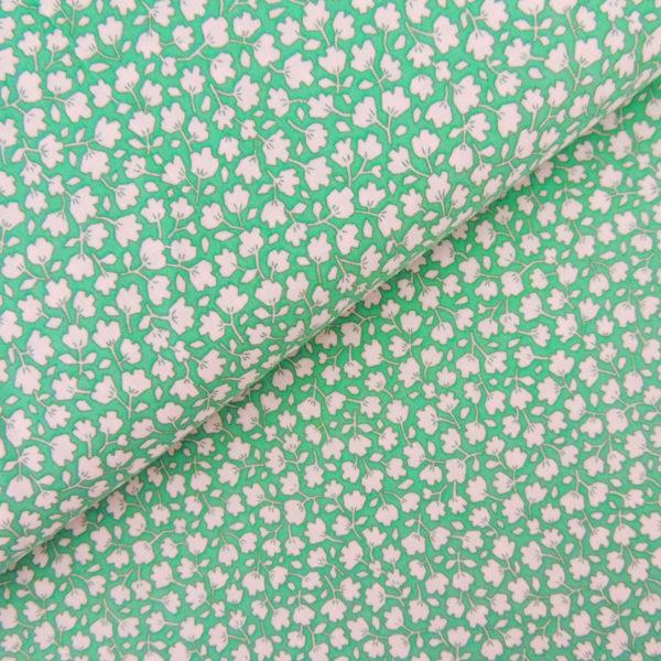 Ткань белые цветочки - студия SOVA