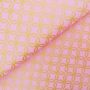 Ткань GLITZ розовые цветы