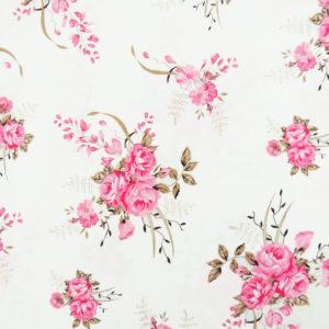 Ткань розы