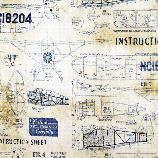 Ткань чертеж - студия SOVA