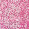 Ткань малиновые цветы - студия SOVA