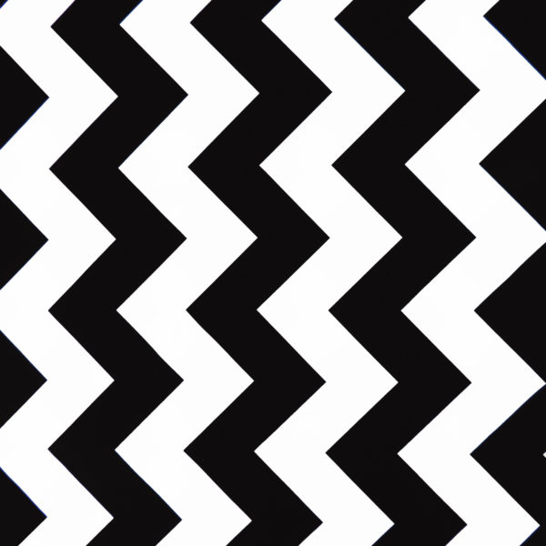 Ткань черный зигзаг - ZIGZAG SHOP