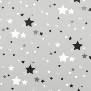 Ткань серая звезда - студия SOVA