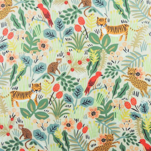Ткань джунгли - студия SOVA