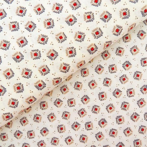 Ткань рубин - студия SOVA