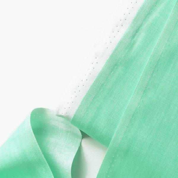 Ткань зеленая мята - студия SOVA