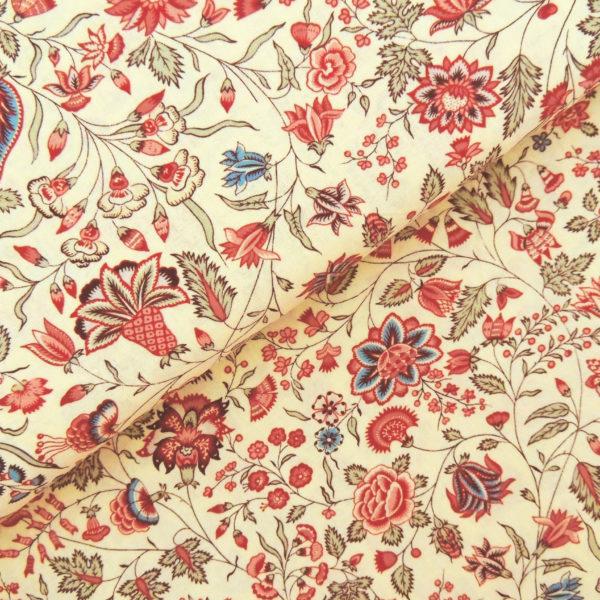 Ткань осенние цветы - студия SOVA