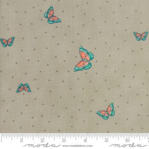 Ткань изумрудные бабочки