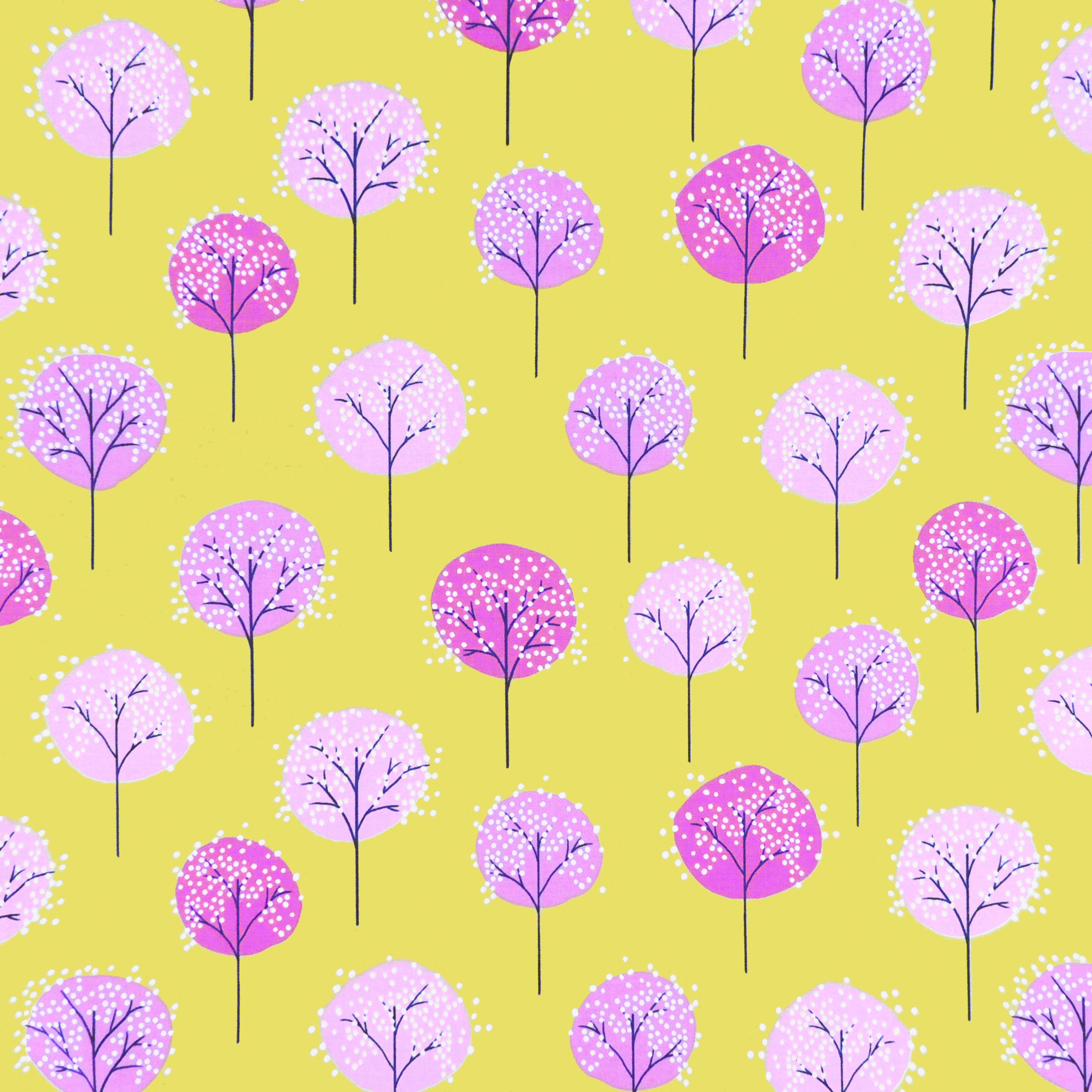 Ткань деревья - студия SOVA