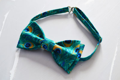 Мастер-класс галстук-бабочка