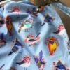 Ткань птички