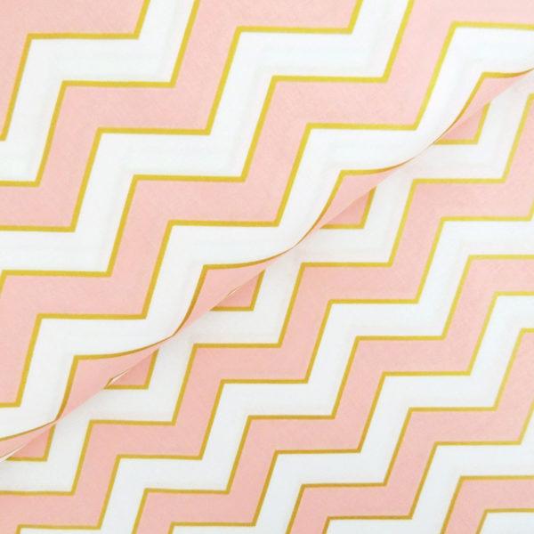 Ткань шеврон GLITZ розовый - студия SOVA