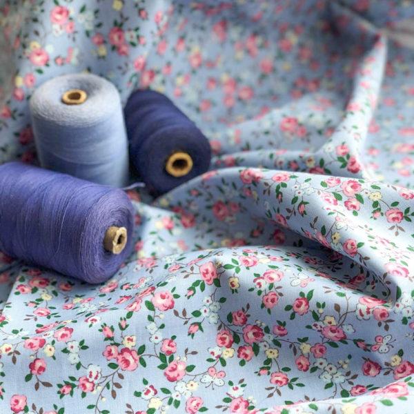 Ткань садовые розочки - ZIGZAG SHOP
