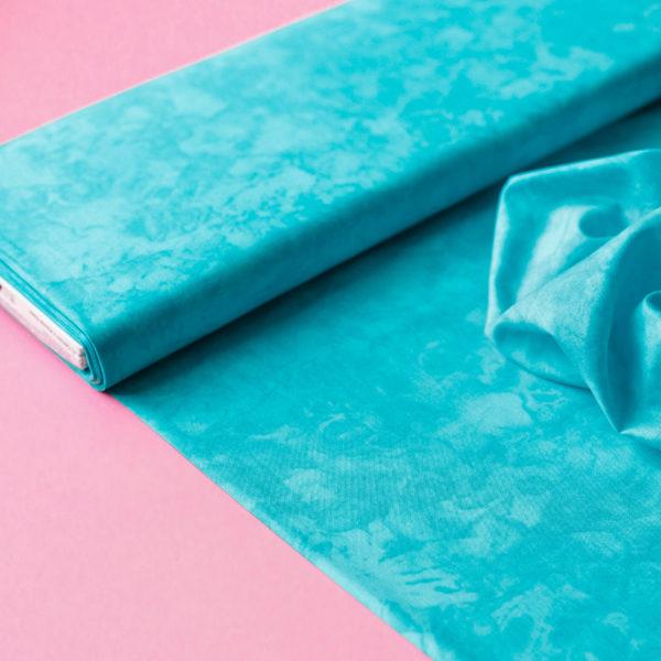 Ткань голубая
