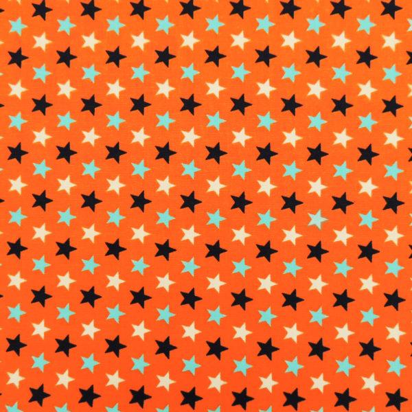 Канвас оранжевые звезды - студия SOVA