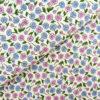 Перкаль цветы бежевые - студия SOVA