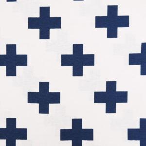 Канвас синие кресты