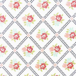 Ткань цветочный узор - студия SOVA