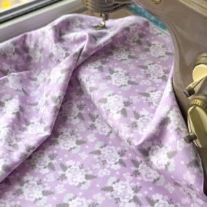 Ткань сирень - ZIGZAG SHOP