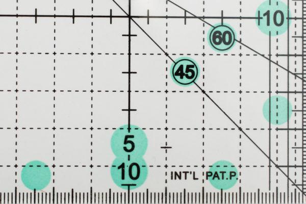 Линейка для пэчворка 10х45 см - студия SOVA