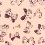 Ткань бабочки - студия SOVA