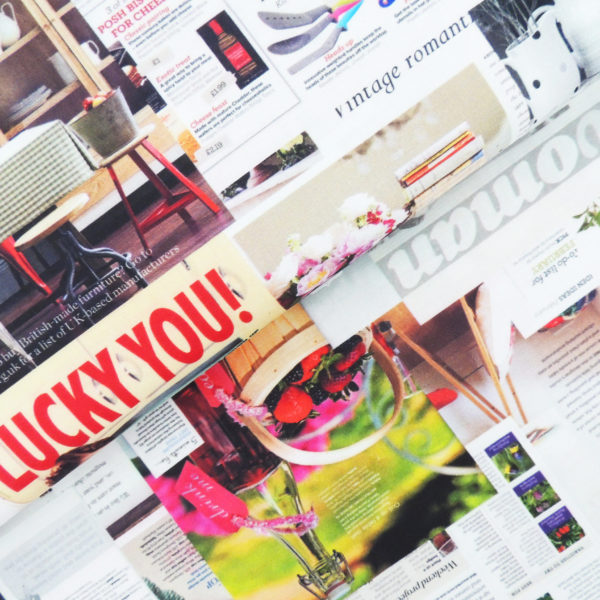 Ткань цветная газета - студия SOVA