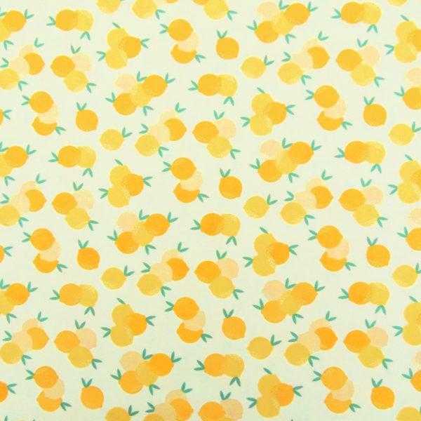 Ткань лимоны - студия SOVA