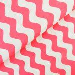 Ткань малиновая волна - студия SOVA