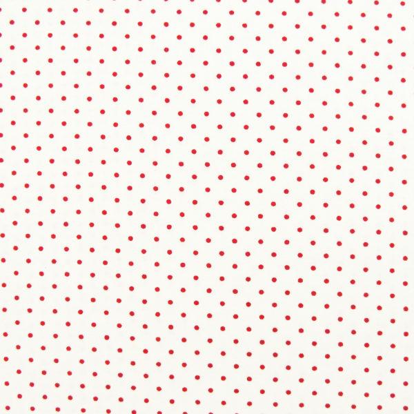 Ткань горох красный - студия SOVA